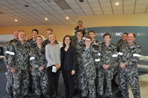 The Sea Rescue Squadron with Sue Crafter, Honorary Consul for France in SA