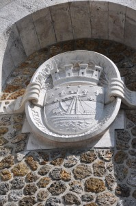 Coat of Arms of Paris at Sacre Coeur