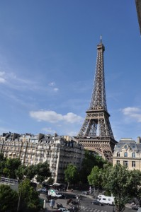 Paris's iconic Eiffel Tower
